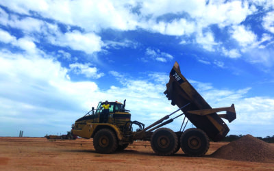 Construction work begins at Lucky Bay port